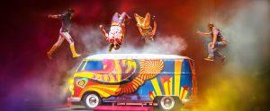 El Ruso deliró con LOVE de Cirque du Soleil