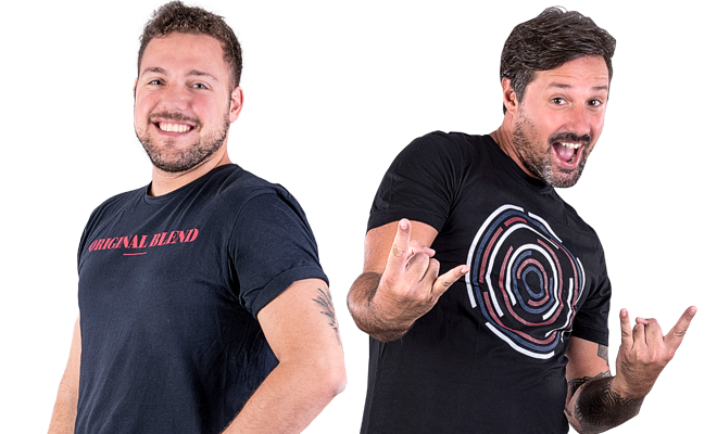 Marcelo Villano y Cristian Hendriksen