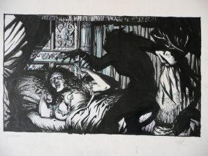 """Dario Lavia inauguro las """"Tertulias del terror"""" con Robert E. Howard"""