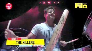 Sueño de Rock Star: el suertudo tocó con The Killers