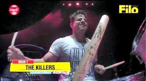 Sueño de Rock Star: el suertudo tocó con The Killers