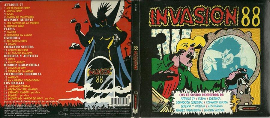 Preparate, se viene el documental de Invasión 88 - Radio Cantilo