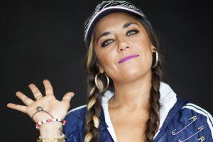Sara Hebe bajo el radar europeo