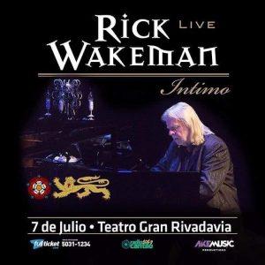 ¡Rick Wakeman vuelve a la Argentina!
