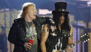 Los Guns N´ Roses fueron juntos a ver la de Queen