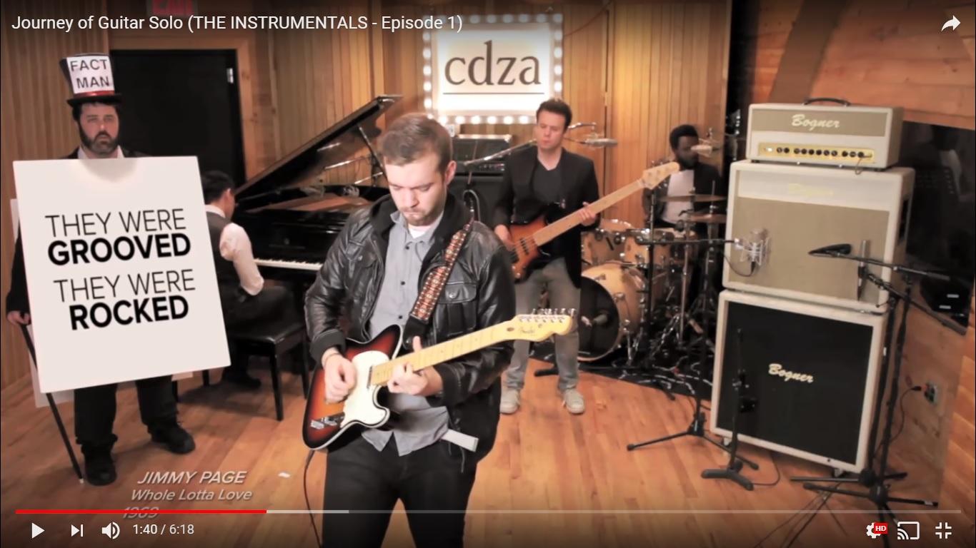 El increíble viaje de la guitarra a través de las décadas - Radio Cantilo