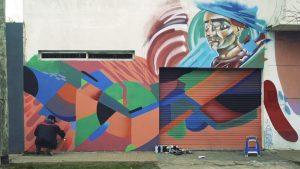 La trama del arte urbano