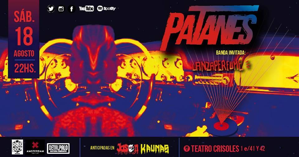 Rock en vivo cortesía de Patanes - Radio Cantilo