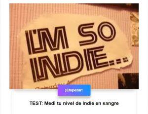 TEST: Medí tu nivel de Indie en sangre
