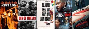 Cinco películas de robos y atracos para ver en casa