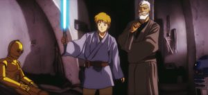 El mítico tráiler de 'Star Wars: A New Hope' con estética anime