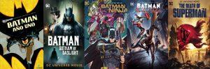 Cinco pelis de Batman para ver en casa