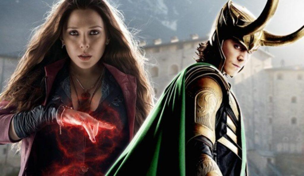 """Avengers"": Loki y la Bruja Escarlata tendrán sus propias series"