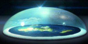 El terraplanismo vs los satélites