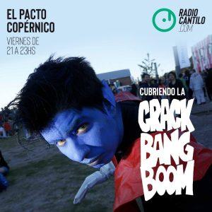 """Max Bidart cubrió la """"Crack Bang Boom"""""""