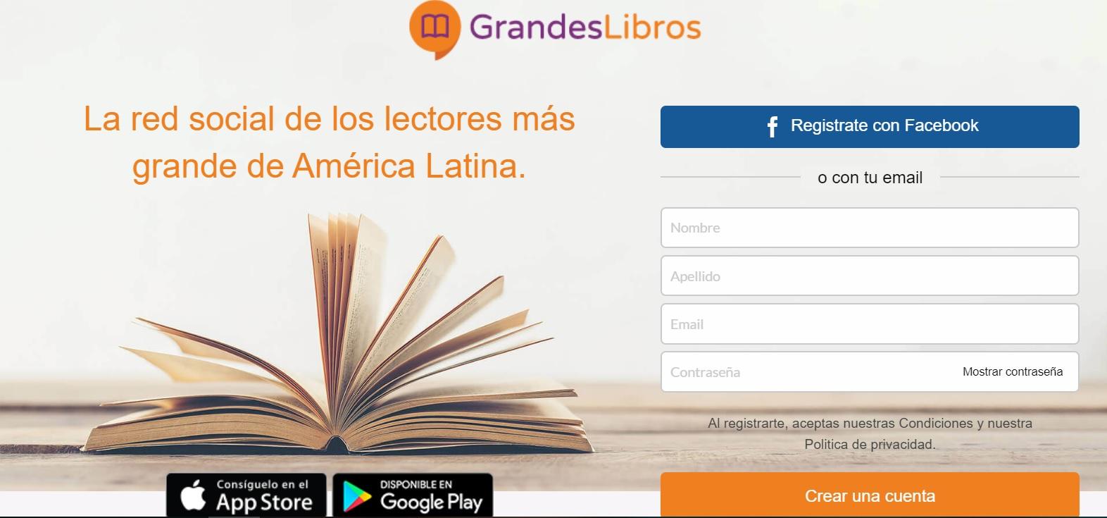 Grandes Libros: La red social perfecta para los amantes de la lectura - Radio Cantilo