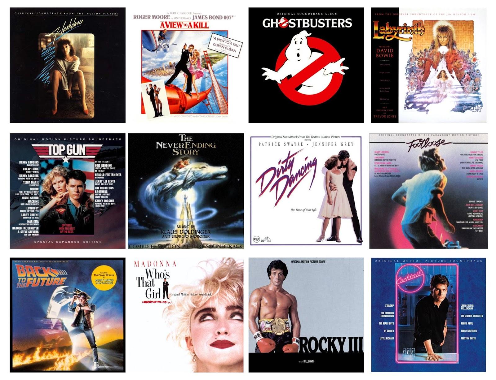 Las mejores bandas sonoras de pelis ochentosas - Radio Cantilo