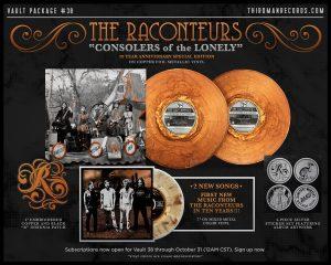 Develan nuevos temas de The Raconteurs