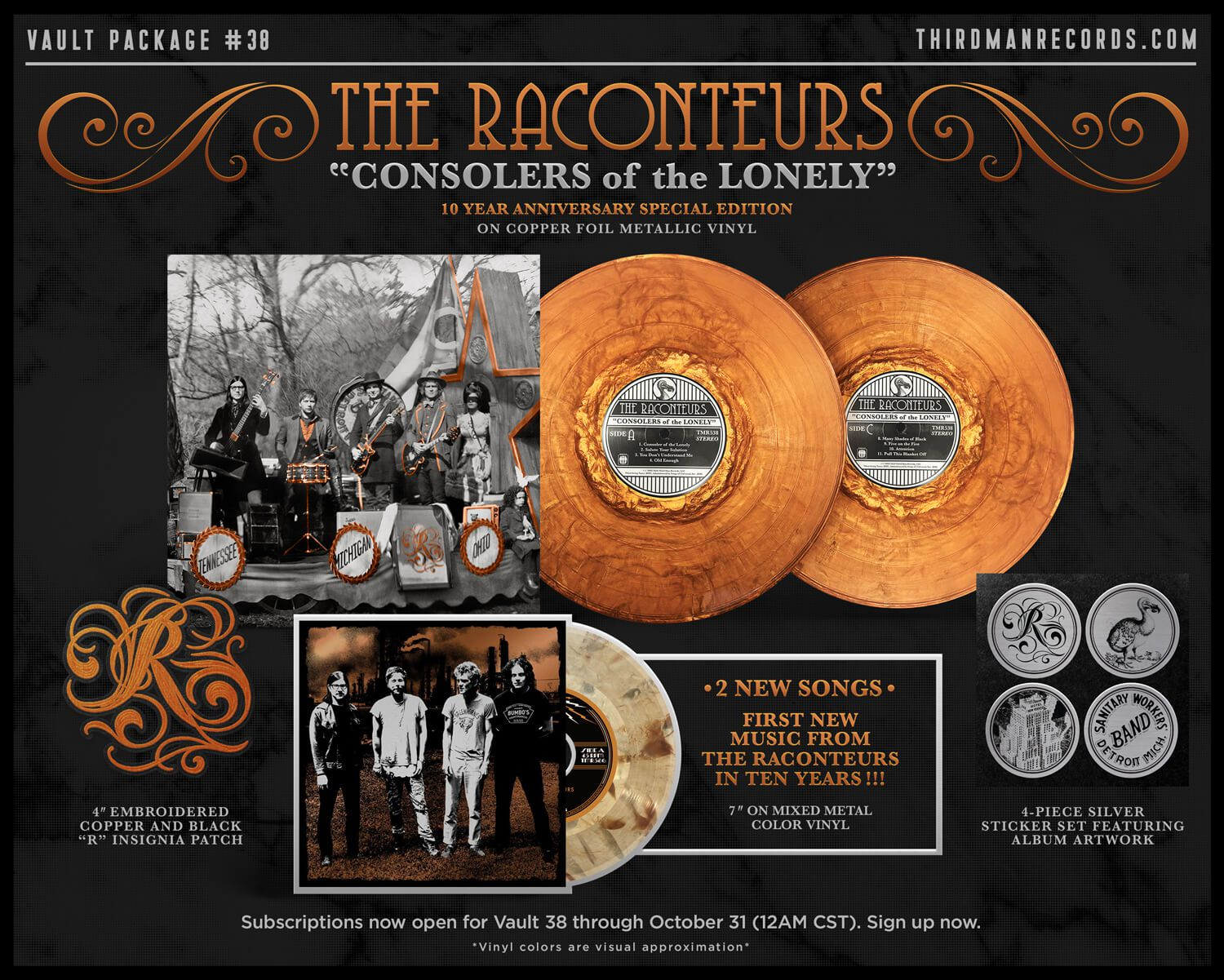 Develan nuevos temas de The Raconteurs - Radio Cantilo