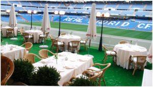 """""""Puerta 57"""", el lujoso restaurant del Santiago Bernabéu"""