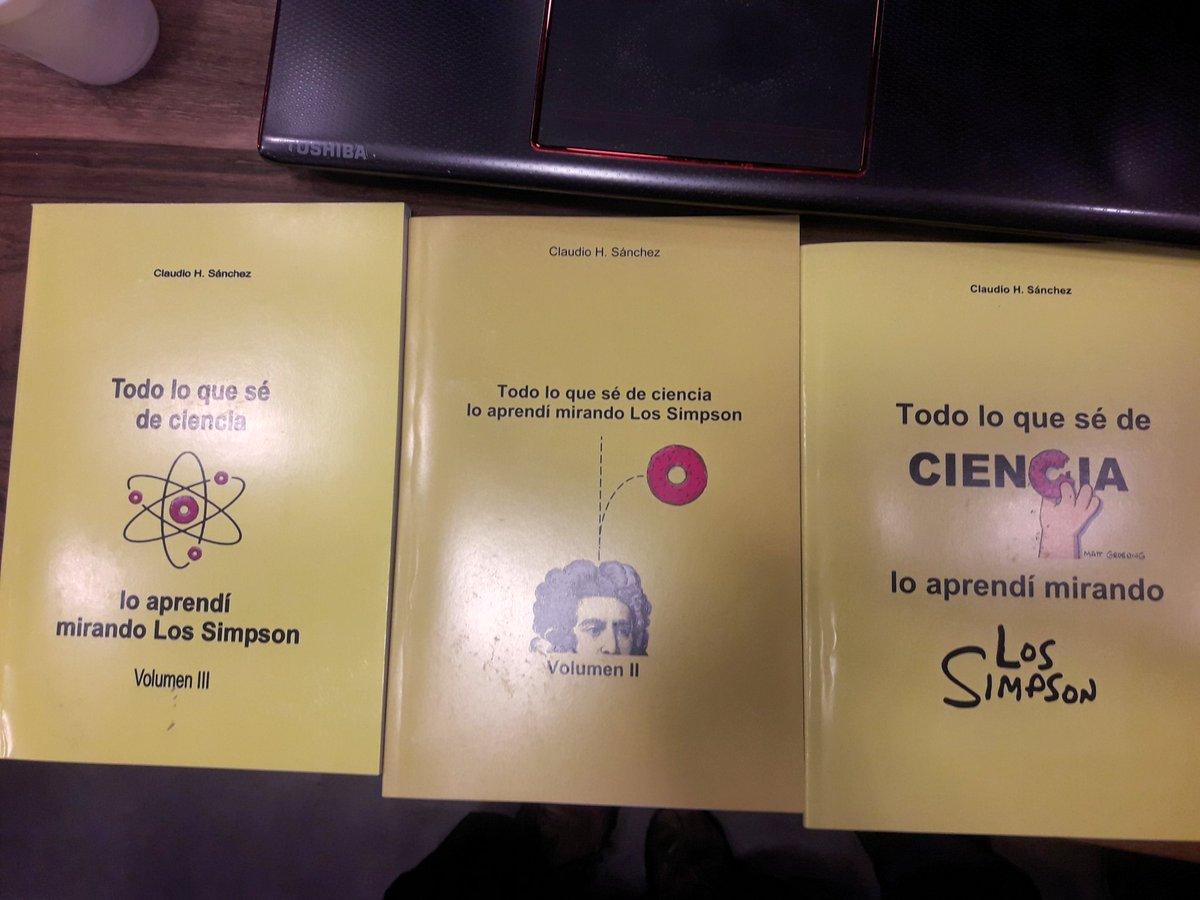 """""""Todo lo que sé de ciencia lo aprendí mirando Los Simpsons"""" - Radio Cantilo"""