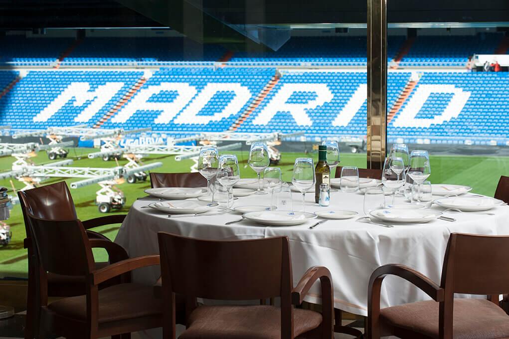 """""""Puerta 57"""", el lujoso restaurant del Santiago Bernabéu - Radio Cantilo"""