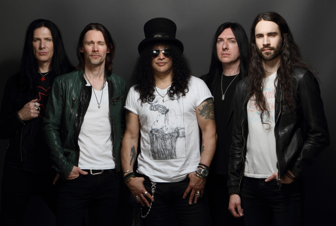 ¡Slash ft. Myles kennedy & The Conspirators vienen para Argentina! - Radio Cantilo