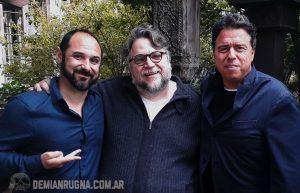 """Demian Rugna: """"Guillermo del Toro se enamoro de Aterrados"""""""