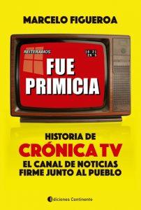 ¡Salió el libro con la historia de Crónica TV!