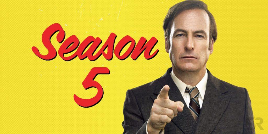 Detalles de la quinta temporada de 'Better Call Saul'