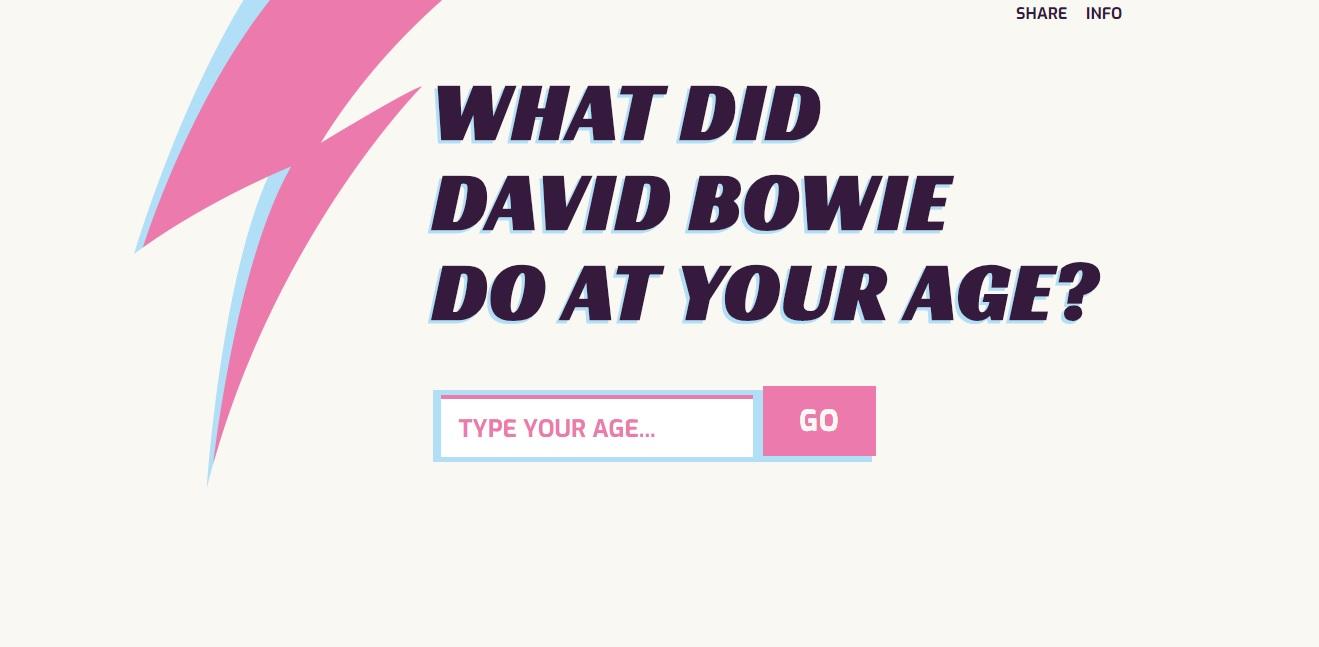 ¿Qué hacía David Bowie a tu edad? - Radio Cantilo