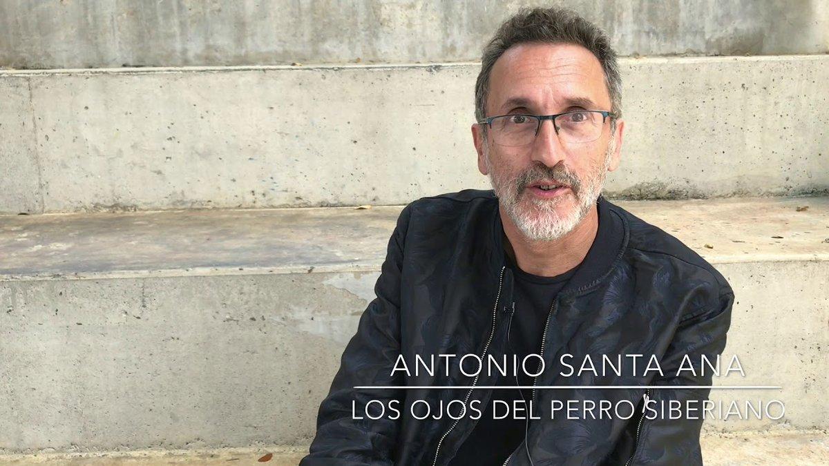 """Antonio Santa Ana a 20 años de la publicación de """"Los Ojos del Perro Siberiano"""" - Radio Cantilo"""