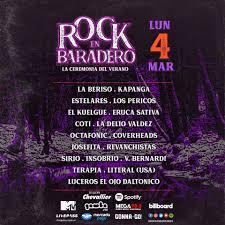 Rock en Baradero: La previa del Día 3