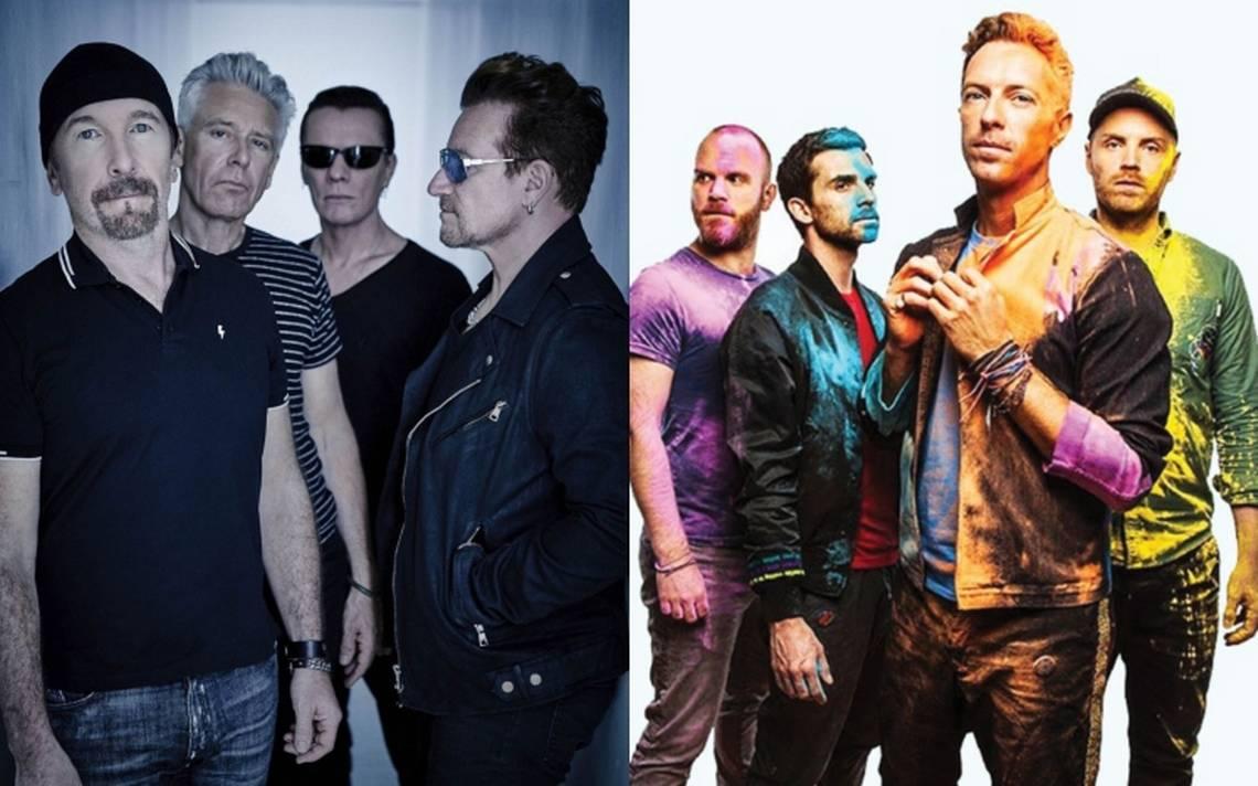 U2 y Coldplay son los mejores pagados de 2018 - Radio Cantilo