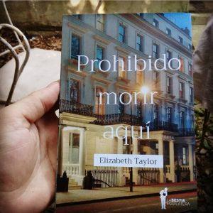 """#LosLibrosDeAle: """"Prohibido morir aquí"""", Elizabeth Taylor"""