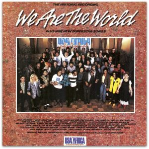 "A 34 años de la grabación de ""We Are The World"""