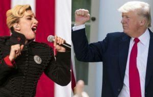 Lady Gaga cargó contra Donald Trump