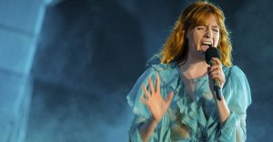 Florence and the Machine tocó tema inédito