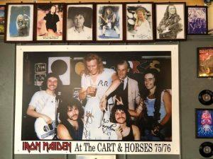 ¡Los miembros originales de Iron Maiden volvieron a reencontrarse!