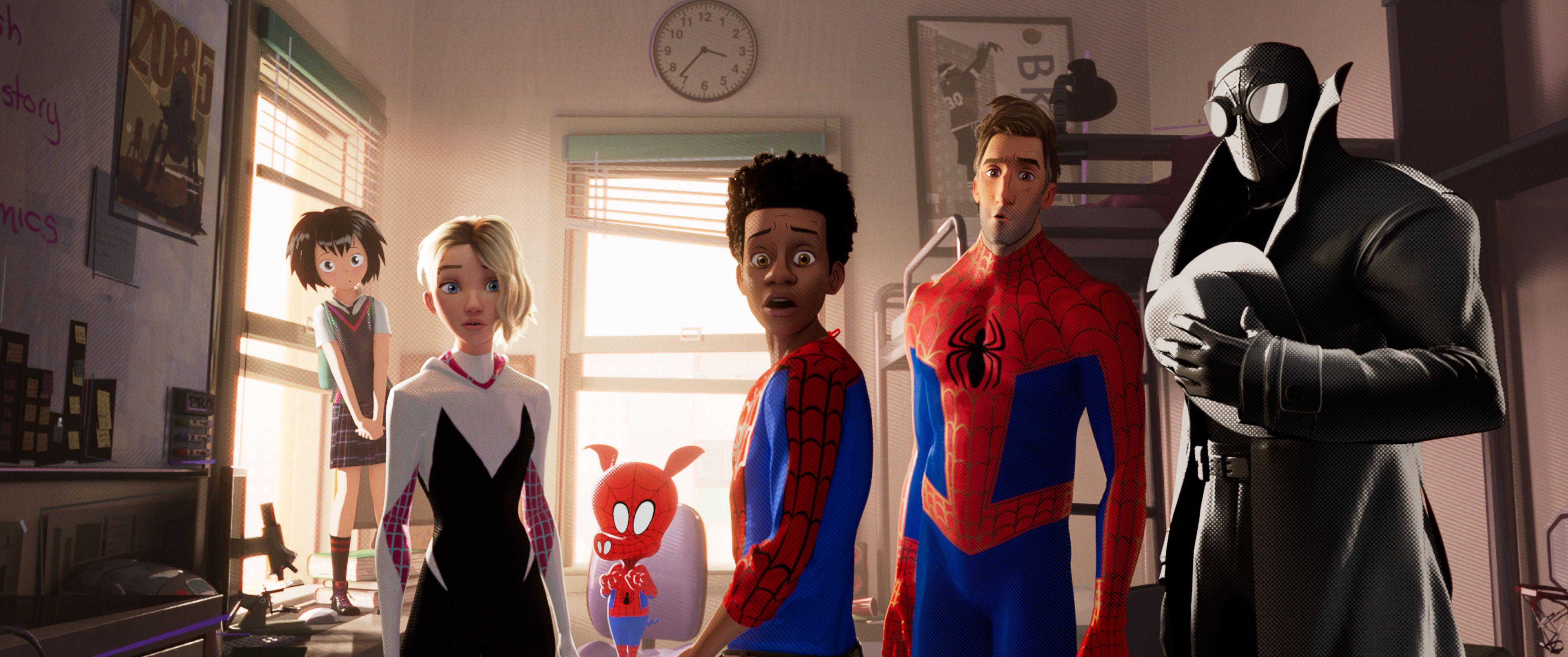 """""""Spiderman: Un nuevo universo"""": La revolución del cine de animación"""" - Radio Cantilo"""