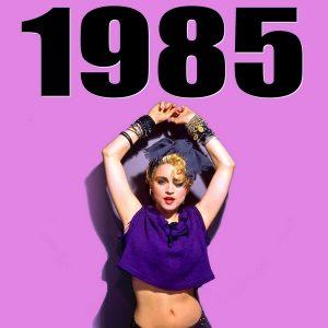 ¿Fue 1985 el mejor año para la música?
