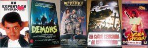 Cinco pelis en VHS para ver en casa