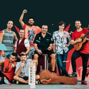 La Pegatina llega desde Barcelona a pura adrenalina