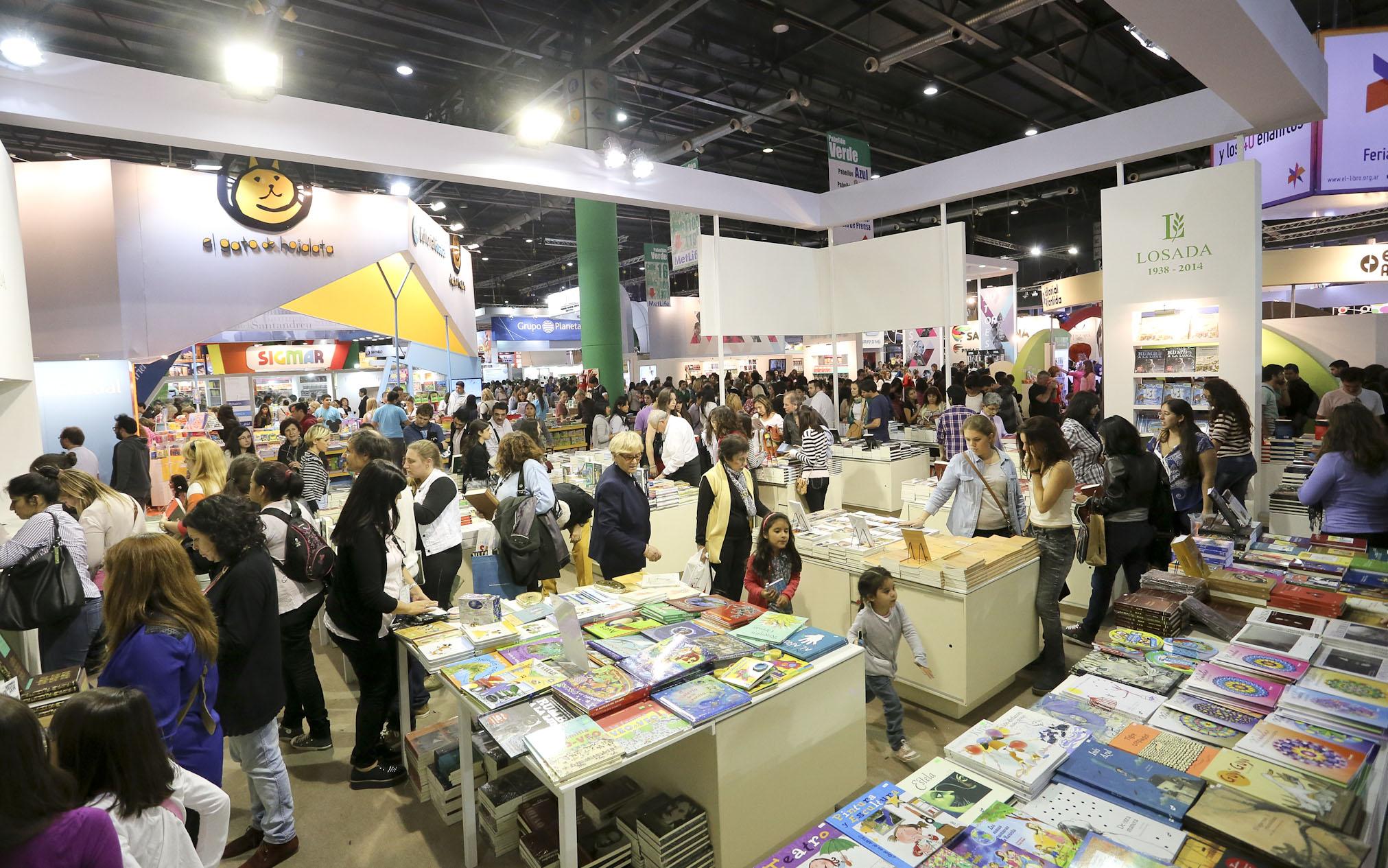 Comenzó una nueva edición de la Feria Internacional del Libro - Radio Cantilo