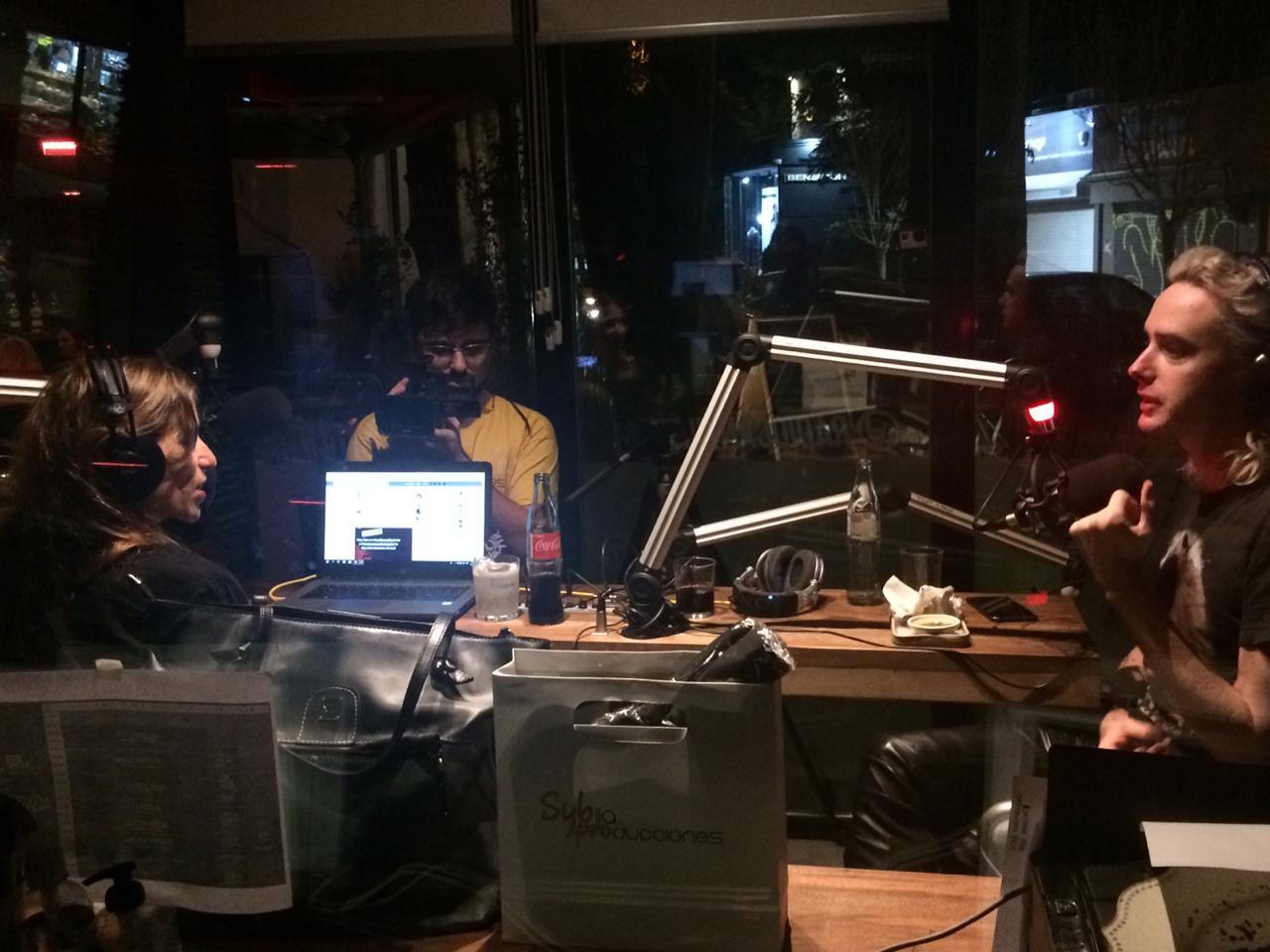 #SonidoVivo| Benito Cerati en Allá Voy - Radio Cantilo