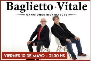 """Baglietto-Vitale regresan a La Plata con su exitosa gira """"Canciones Inoxidables"""""""