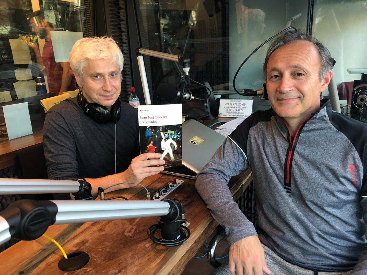 Charlas con escritores: Mano a mano con Juan José Becerra - Radio Cantilo
