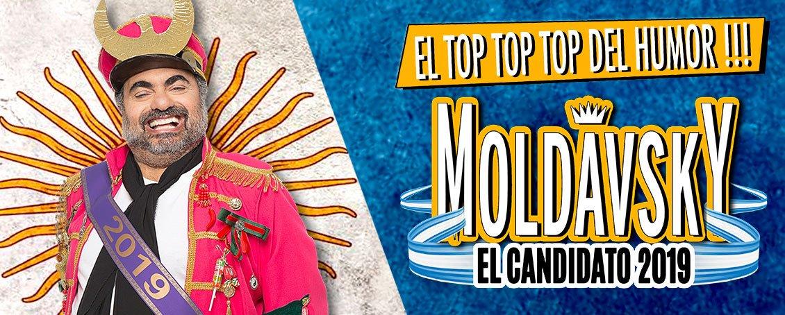 """Moldavsky es """"El Candidato 2019"""" - Radio Cantilo"""