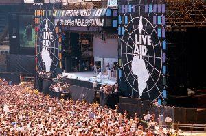 ¿Vuelven los Live Aid?