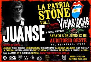 """Juanse: """"En una época sonaba despectivo hablar de 'Patria Stone'"""""""